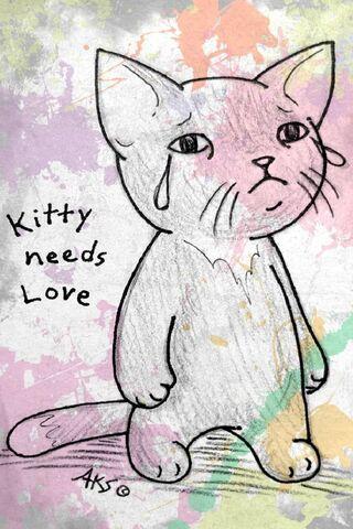 Kitty Cat Needs Love