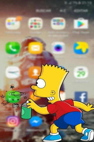 Simpson Iphone