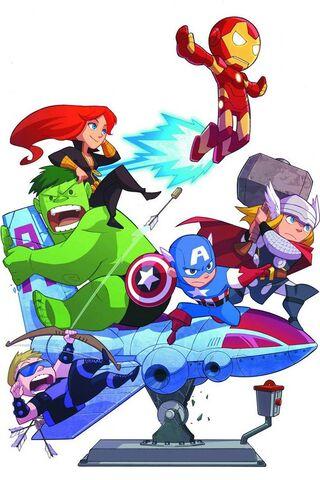 Cartoon-Avengers