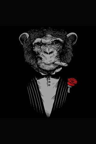 डराने वाला बंदर