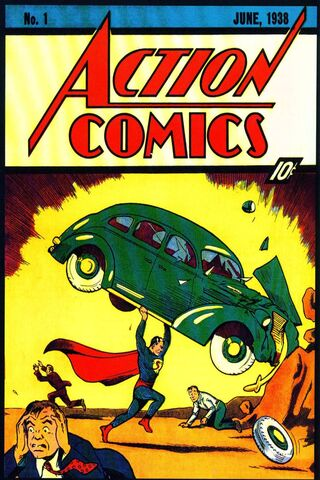 Quadrinhos de ação N-1