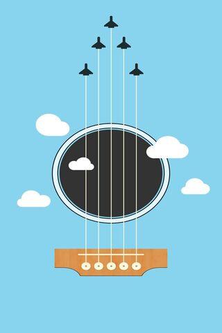 Jet Plane Guitar