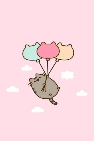 Pusheen-Luftballons