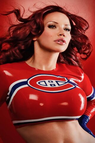 Red Hot Hockey Girl