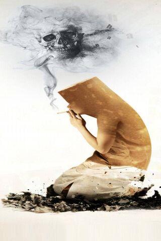 Fumar es dañino