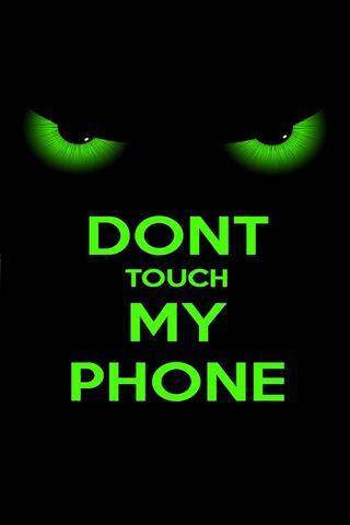 Non toccare il mio telefono