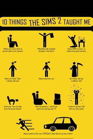 10 Things Sims 2