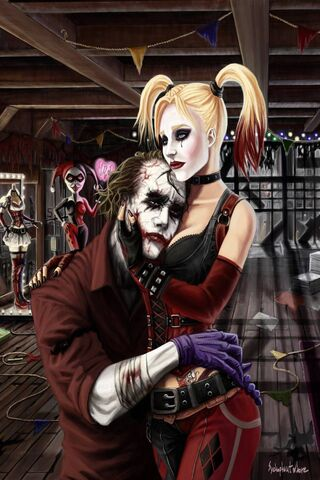 Joker dan Harley