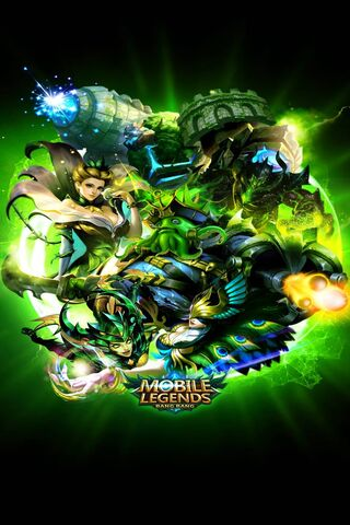 Green Mobile Legends