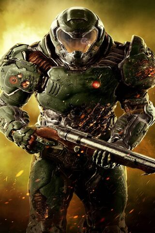 Doom Slayer Wallpaper Download To Your Mobile From Phoneky
