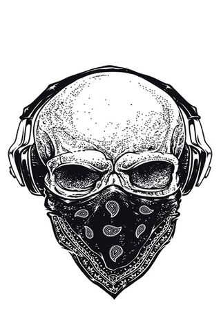 Skull Hood