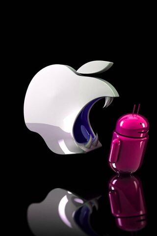 Apple Eats Android