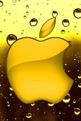 गोल्डन एप्पल लोगो