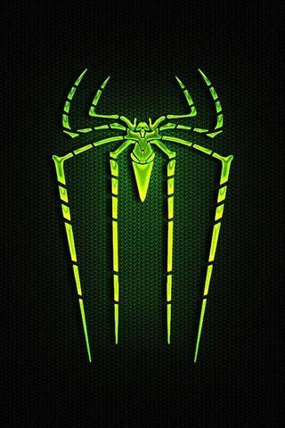 Человек-паук Зеленый логотип