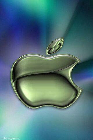 Alien Metal Apple