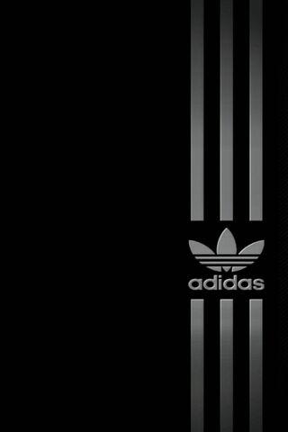 Silver Black Adidas