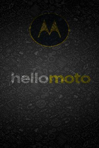 Hello Moto Black