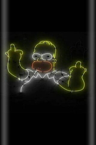 Amoled Rude Homer
