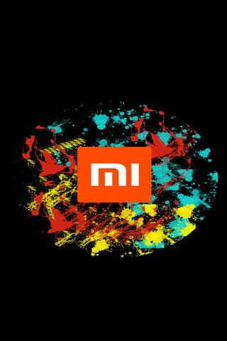 Phoneky Xiaomi Logo Splash Hd Wallpapers