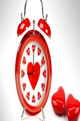 Love Hearts Clock