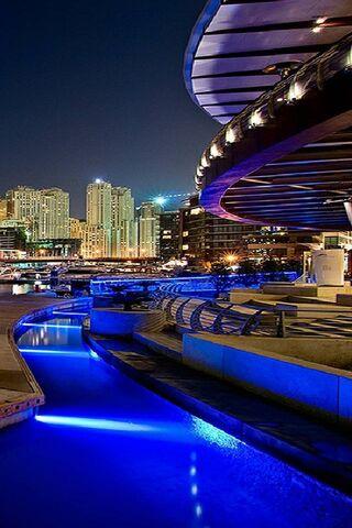 Blue Lights City