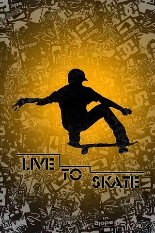लाइव टू स्केट