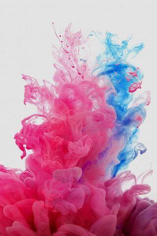 Pink N Blue Smoke