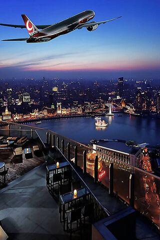 Romantic City Night