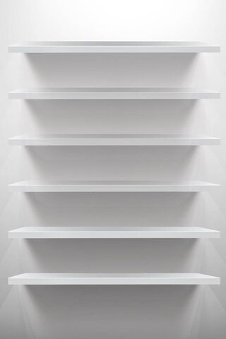 White Shelf