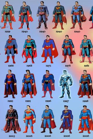 Superman Evolution