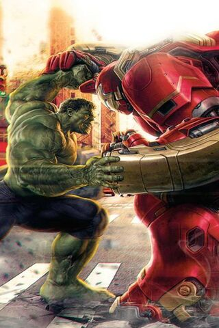 Hulk Vs Iron Man