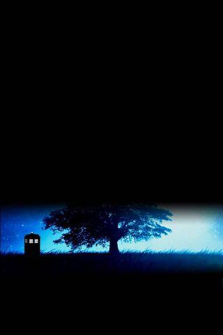 Tardis Au Clair De Lune