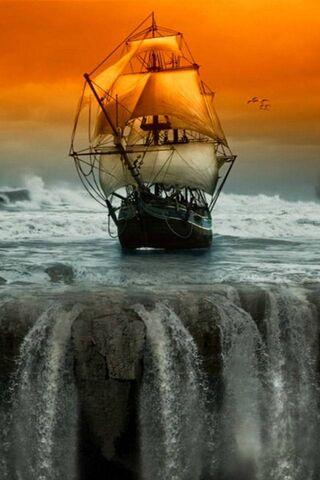 Navio de água Hd