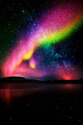 أورورا الملونة