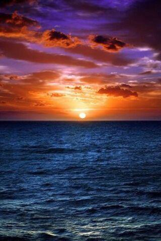 सूर्यास्त चित्र