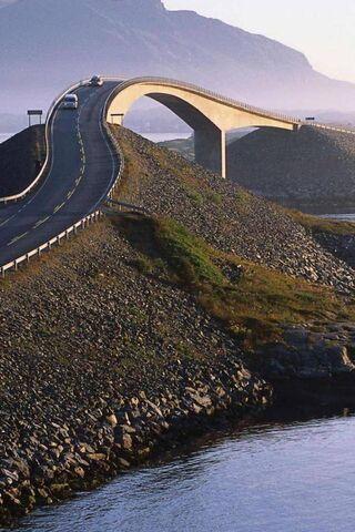 Route Atlantique Fond D Ecran Telecharger Sur Votre Mobile Depuis Phoneky