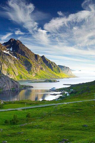paysage nordique fond d ecran