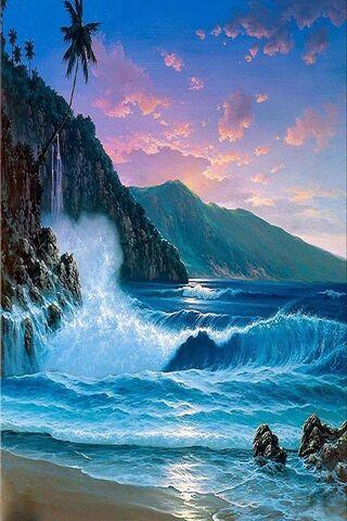 Blue Bright Ocean