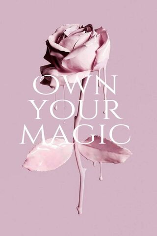 Own Your Magic Rose