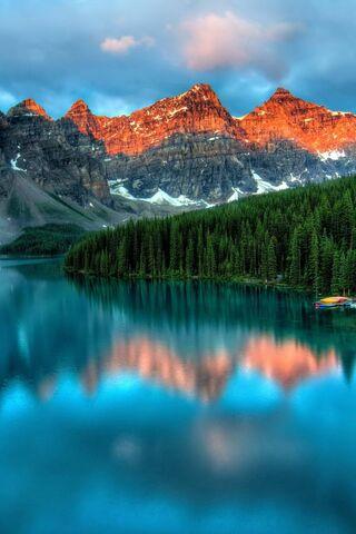 بحيرة الجبل