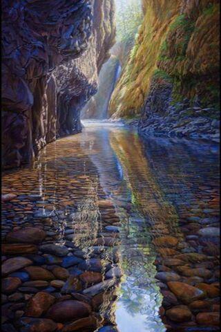 Rivières cascade