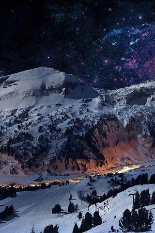 ليلة الثلج