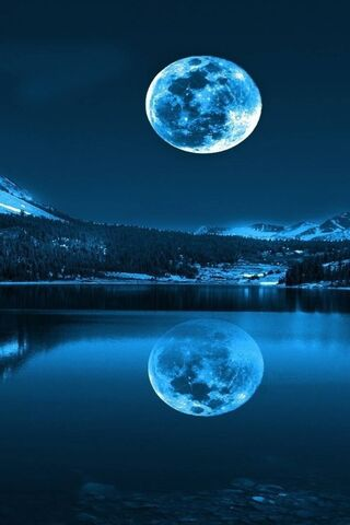 Bulan Biru