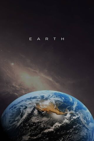 Earth With Text