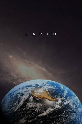 الأرض مع النص