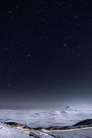 Bright Night Sky