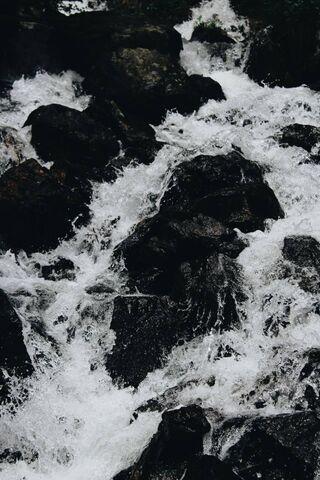 Roches de la rivière