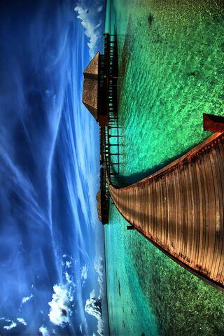المياه الخضراء
