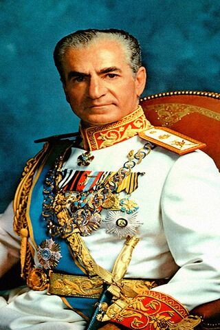 Persian King Pahlavi