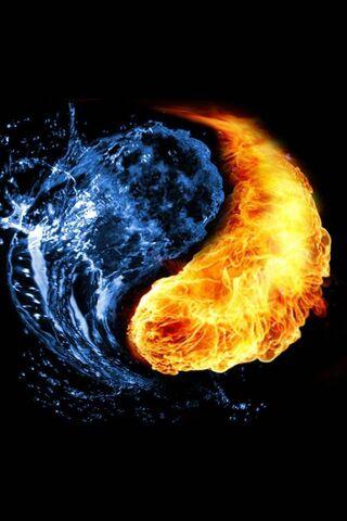 لهب النار النار